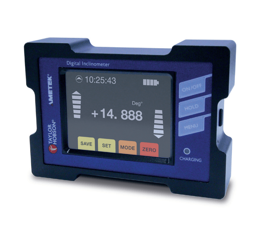 Electronic Digital Inclinometer to measure precision angle from any side