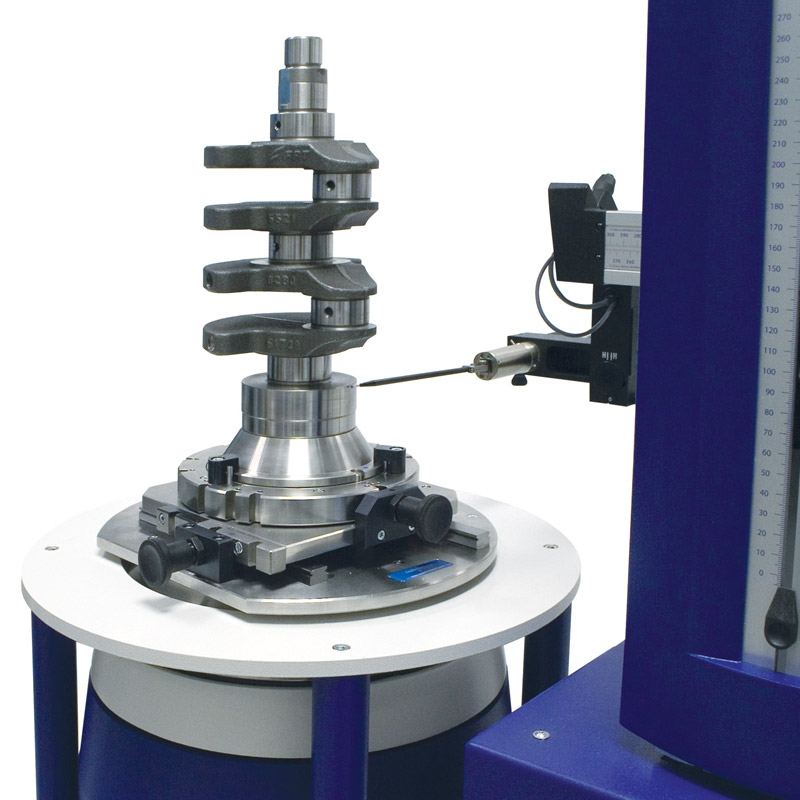 Roundness tester - fully automated centre and level and automatic gauge calibration